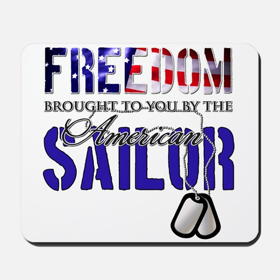FREEDOM - Brought to you by t Mousepad