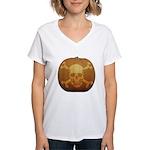 Pirate Halloween Women's V-Neck T-Shirt