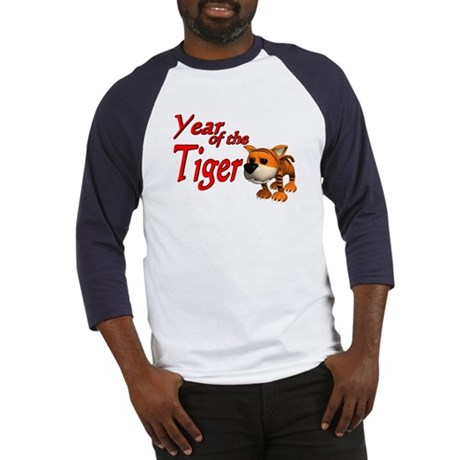 Year of the Tiger (B) Baseball Jersey