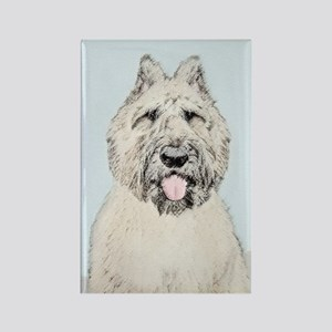 Bouvier des Flandres Rectangle Magnet