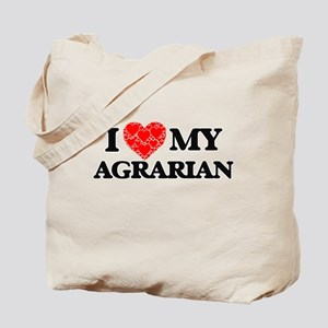 I Love my Agrarian Tote Bag