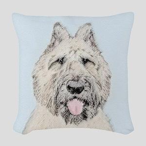 Bouvier des Flandres Woven Throw Pillow