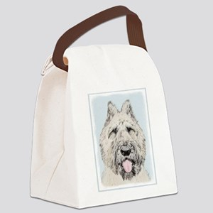 Bouvier des Flandres Canvas Lunch Bag