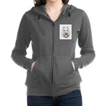 Bouvier des Flandres Women's Zip Hoodie