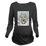 Bouvier des Flandre Long Sleeve Maternity T-Shirt