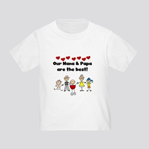 FAMILY STICK FIGURES Toddler T-Shirt