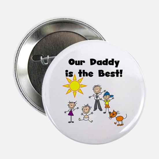 """FAMILY STICK FIGURES 2.25"""" Button (100 pack)"""