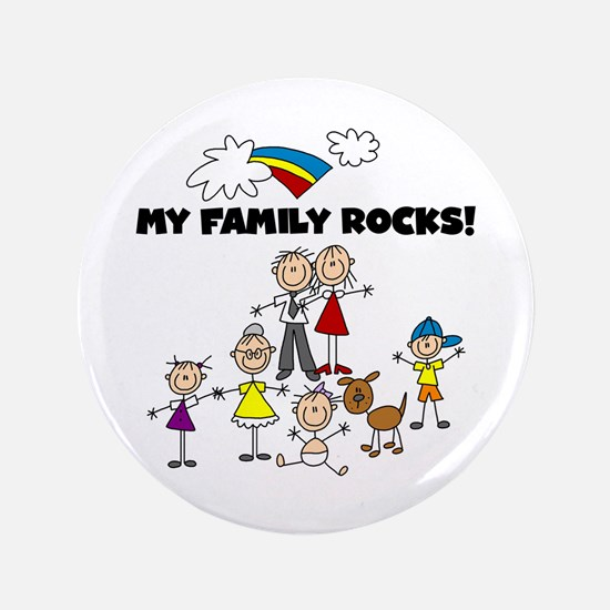 "FAMILY STICK FIGURES 3.5"" Button"