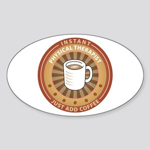 Instant Physical Therapist Oval Sticker