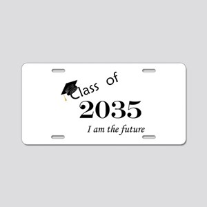 Born In 2017/Class of 2035 Aluminum License Plate