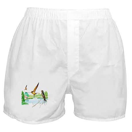 Barn Swallow Boxer Shorts