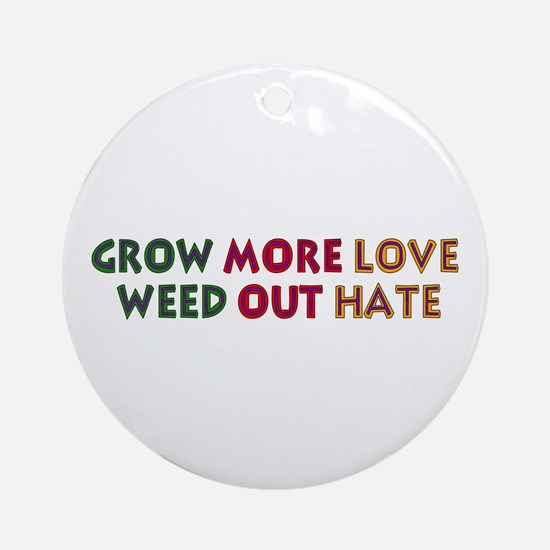Grow More Love Ornament (Round)