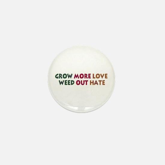 Grow More Love Mini Button