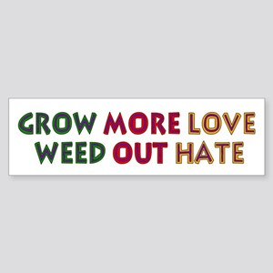 Grow More Love Sticker (Bumper)
