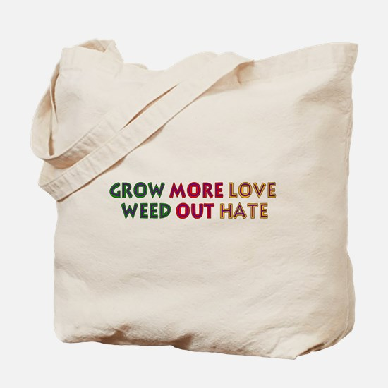 Grow More Love Tote Bag