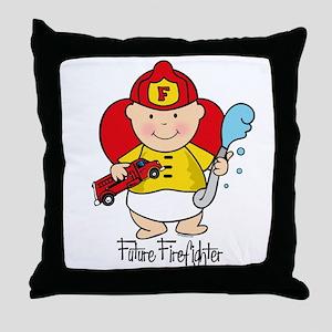 Future Firefighter Throw Pillow