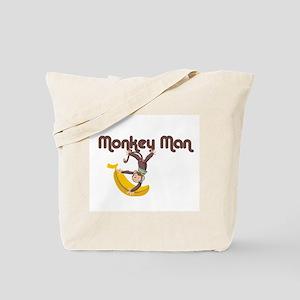Monkey Man Tote Bag