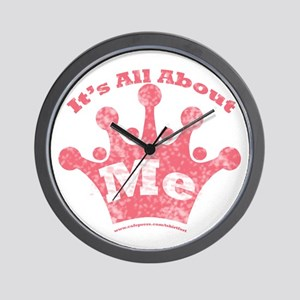 All About Me! Wall Clock