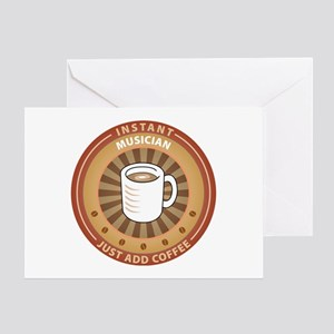 Instant Musician Greeting Card