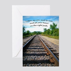Proverbs 23:19 Greeting Cards
