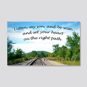 Proverbs 23:19 Wall Decal