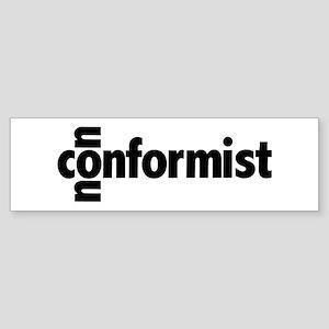 The Nonconformist Bumper Sticker