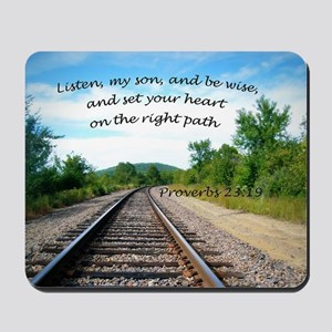 Proverbs 23:19 Mousepad