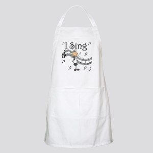 I Sing (FEMALE) BBQ Apron
