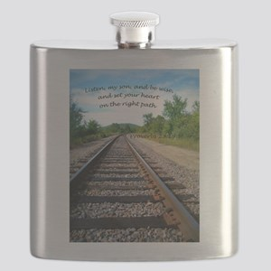 Proverbs 23:19 Flask