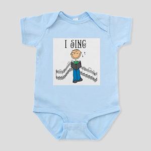 I Sing (MALE) Infant Bodysuit