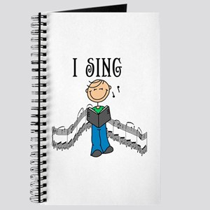 I Sing (MALE) Journal
