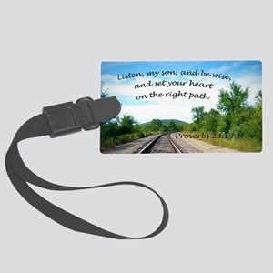 Proverbs 23:19 Luggage Tag