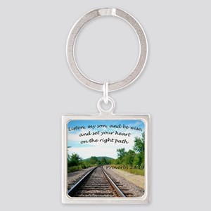 Proverbs 23:19 Keychains