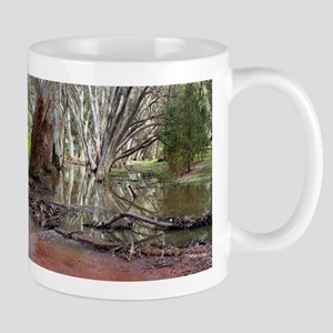 Outback creek reflections 2 Mugs