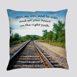 Proverbs 23:19 Everyday Pillow
