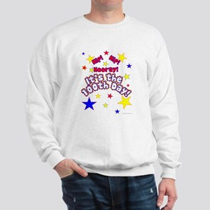 Hip! Hip! Hooray! 100th Day Sweatshirt