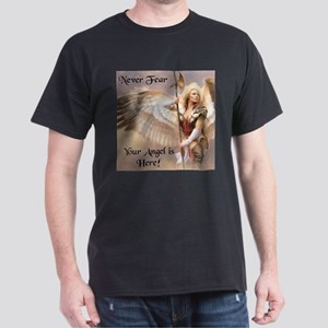 Your Angel is Here Dark T-Shirt