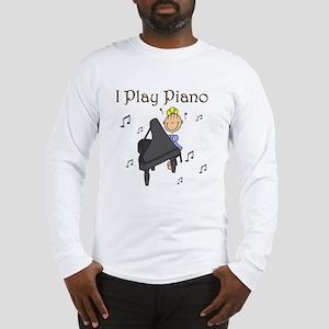 I Play Piano Long Sleeve T-Shirt