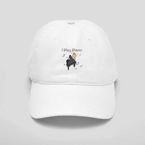 I Play Piano Cap
