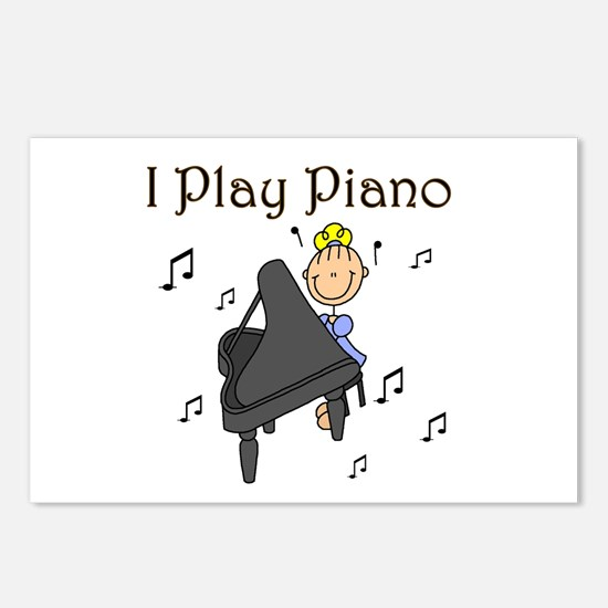 I Play Piano Postcards (Package of 8)