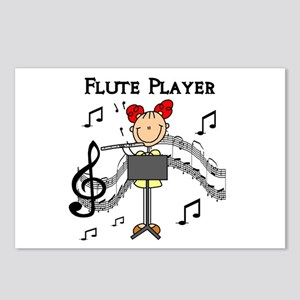 Flute Player Postcards (Package of 8)