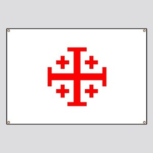 Crusaders Cross (Red) Banner