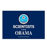 Scientists for Obama Postcards (Package of 8)