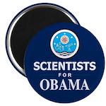 Scientists for Obama Magnet