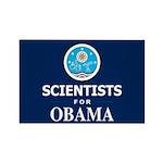Scientists for Obama Rectangle Magnet (100 pack)