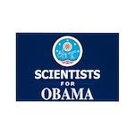 Scientists for Obama Rectangle Magnet