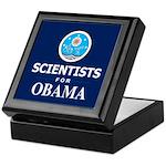 Scientists for Obama Keepsake Box