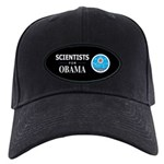 Scientists for Obama Black Cap
