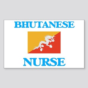 Bhutanese Nurse Sticker