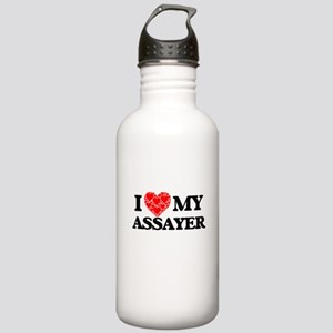 I Love my Assayer Stainless Water Bottle 1.0L